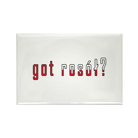 got rosol? Flag Rectangle Magnet