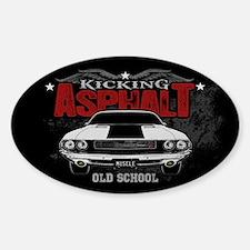 Kicking Asphalt - Challenger Decal
