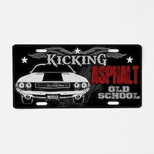 Kicking Asphalt - Challenger Aluminum License Plat