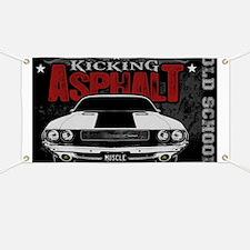 Kicking Asphalt - Challenger Banner
