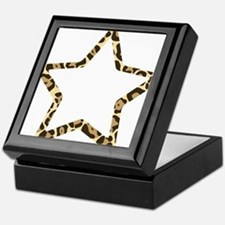 Leopard Star Keepsake Box