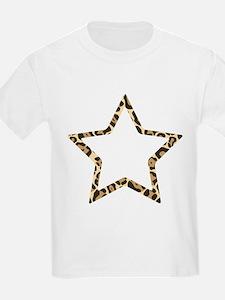 Leopard Star T-Shirt