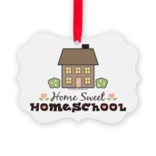 Unique Homeschool Ornament