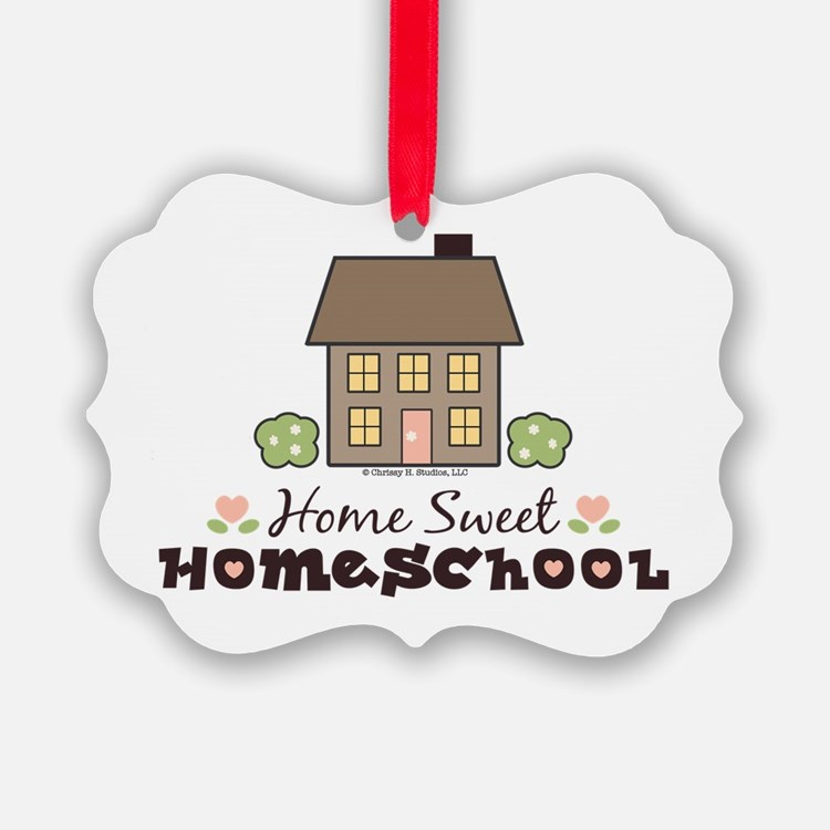 Cute Homeschooling Ornament