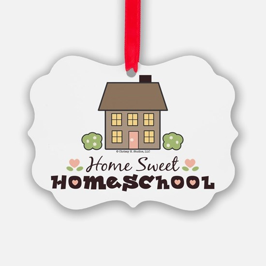 Cute Back to school Picture Ornament