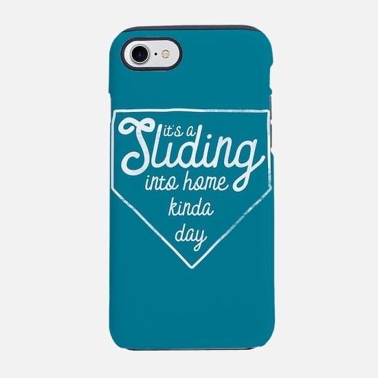 It's A Sliding Into Home Kinda iPhone 7 Tough Case