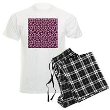 Hot Pink Leopard Print Pajamas