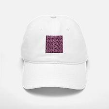Hot Pink Leopard Print Baseball Baseball Cap