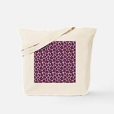 Hot Pink Leopard Print Tote Bag
