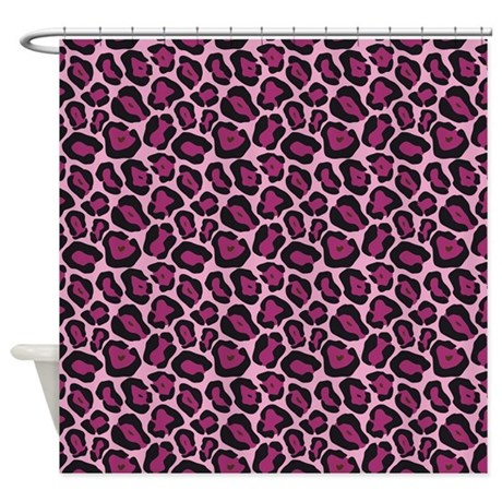 Pink Cheetah Print Curtains Daisy Print Curtains