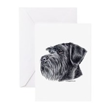 Giant Schnauzer Greeting Cards (Pk of 10)