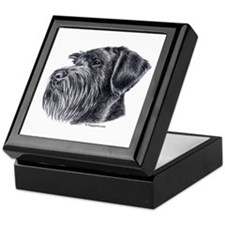 Giant Schnauzer Keepsake Box