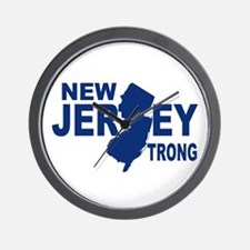 New jersey Strong Wall Clock