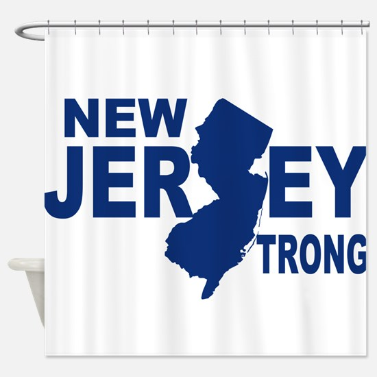 New jersey Strong Shower Curtain