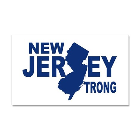 New jersey Strong Car Magnet 20 x 12