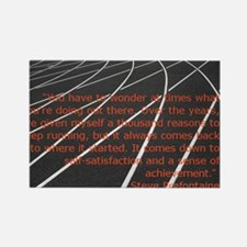 Prefontaine Quote Rectangle Magnet