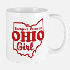 Everyone Loves an Ohio Girl Mug