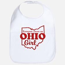Everyone Loves an Ohio Girl Bib