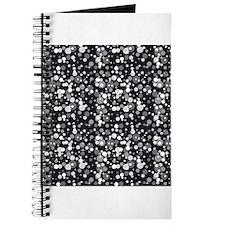 Black Sparkle Print Journal