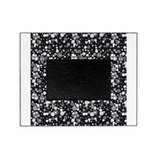 Black Sparkle Print Picture Frame