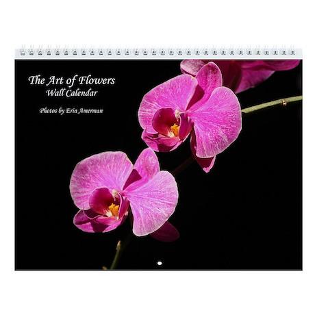The Art of Flowers Wall Calendar