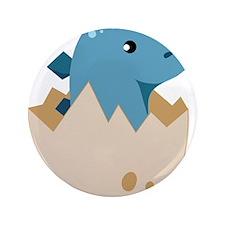 "Baby Stegoceras Dinosaur 3.5"" Button (100 pack)"
