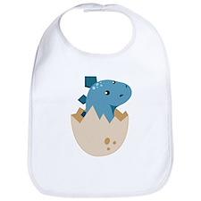Baby Stegoceras Dinosaur Bib