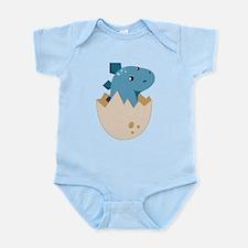 Baby Stegoceras Dinosaur Infant Bodysuit