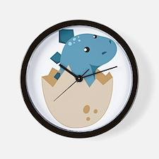 Baby Stegoceras Dinosaur Wall Clock