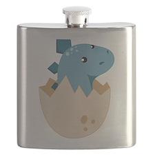 Baby Stegoceras Dinosaur Flask