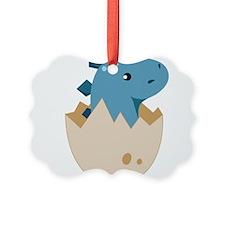 Baby Stegoceras Dinosaur Ornament