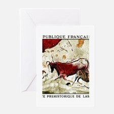 1968 France Lascaux Cave Paintings Postage Stamp G