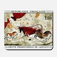1968 France Lascaux Cave Paintings Postage Stamp M