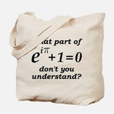 Don't Understand Euler's Equation Tote Bag