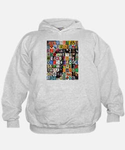 Places of Pi Hoodie