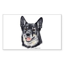 Lapponian Herder Rectangle Decal