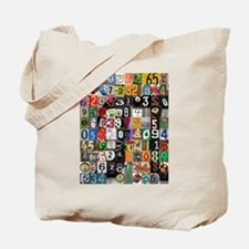 Places of Pi Tote Bag