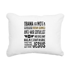 Obama Rectangular Canvas Pillow