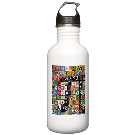 Places of Pi Stainless Water Bottle 1.0L