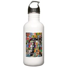 Places of Pi Water Bottle