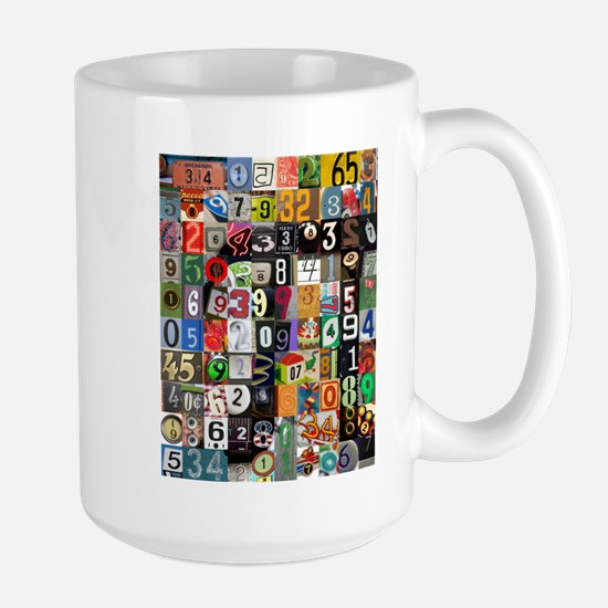 Places Of Pi Large Mug