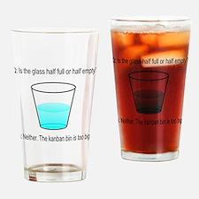 Kanban Water Glass Drinking Glass