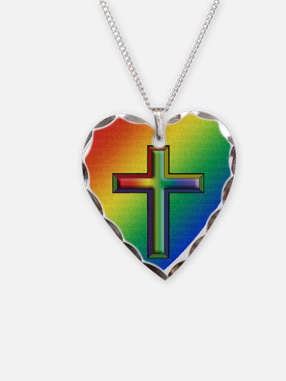 De Colores Cross Necklace