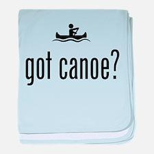 Canoeing baby blanket