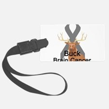 buck-brain-cancer.png Luggage Tag