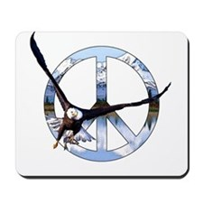 Peace Eagle Mousepad