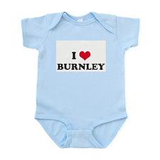 I HEART BURNLEY  Infant Creeper
