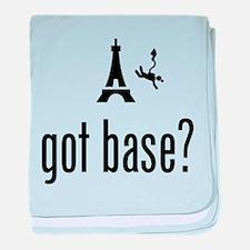 Base Jumping baby blanket
