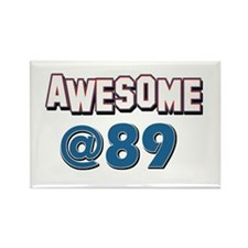 Awesome at 89 Rectangle Magnet