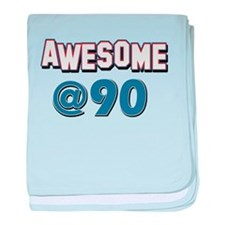 Awesome at 90 baby blanket